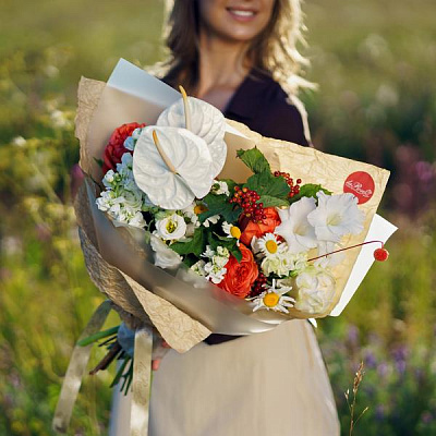 Bouquet of wild flowers 6